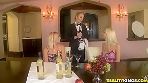 Hayden Hawkens and her GFs in lesbo scene