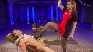 Chastity Cock Suck