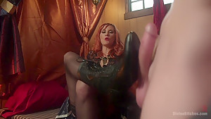 Divine Bitches Halloween Special: FemDom Freakshow! SPH cock edging!