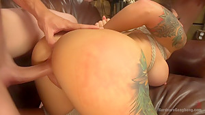 Dollie Darko begs to have her sewer holes filled airtight!!