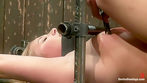 Porn's Youngest Legend Gets Machine Fucked in the Ass