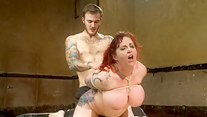 Incredible fetish porn clip with horny pornstars Mz Berlin and Christian Wilde from Dungeonsex