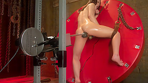 Hottest fetish sex video with amazing pornstar Kristina Rose from Fuckingmachines
