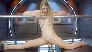 Crazy fetish adult movie with incredible pornstar Summer Carter from Fuckingmachines
