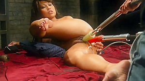 Exotic asian, fetish adult scene with incredible pornstar Max Mikita from Fuckingmachines