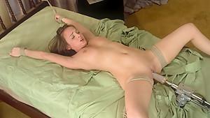 Amazing fetish xxx video with exotic pornstar Charlie Laine from Fuckingmachines