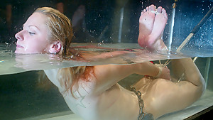 Hottest fetish xxx video with incredible pornstar Faye Runaway from Waterbondage