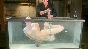 Fabulous fetish adult scene with crazy pornstar Dana DeArmond from Waterbondage