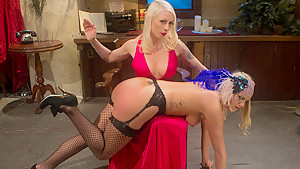 Incredible fetish xxx video with amazing pornstars Layla Pryce and Lorelei Lee from Whippedass