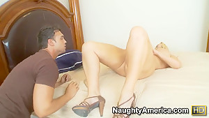 Mature lady Karen Fisher thought it would be great to fuck younger guy