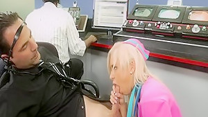 Incredible pornstar Kacey Jordan in best blowjob, blonde adult scene