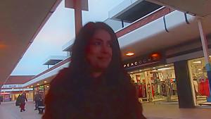 Ava Dalush flashing in public