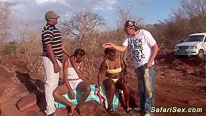 african deepthroat safari orgy