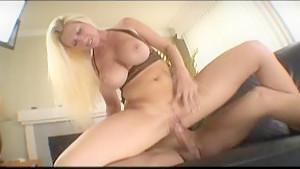 Crazy pornstar Devon Lee in amazing blonde, cunnilingus sex clip