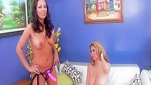 Incredible pornstars Mai Ly, Zoe Britton and Rachel Love in amazing asian, big tits sex scene