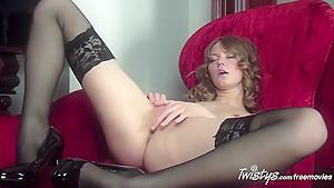 Crazy pornstar in Horny Stockings, Fingering sex clip
