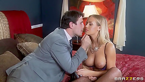 Hot blonde pornstar Manuel Ferrara is fucking with a cute boy