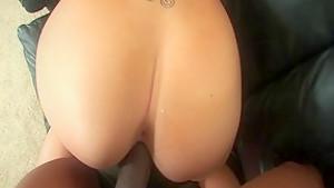 Fabulous pornstar in incredible blonde, small tits sex clip