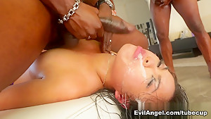 Best pornstars Carmen Caliente, Steven St. Croix, Cindy Starfall in Incredible Gangbang, Asian adult scene