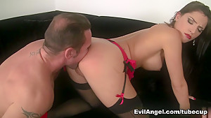 Exotic pornstars Cecilia De Lys, David Perry in Best Big Tits, Anal porn video