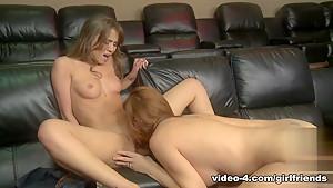 Crazy pornstars Lexi Lamour, Alexis Capri in Fabulous Redhead, Fingering adult scene