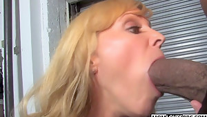 BBC for horny mom Nicole Moore