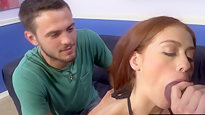 Poor Cuckold Watching Alice Green Taking 2 BBCs