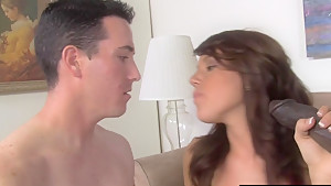 Sexy HotWife Lizzie Tucker Gets Fucked By BBC While Cuckold Watching