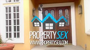 PropertySex Petite Pristine Edge Fucks Perv Who Wants to Buy House