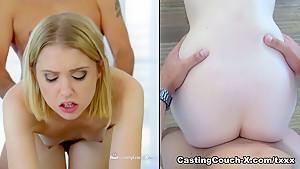 Horny pornstar Chloe Couture in Incredible Small Tits, Casting porn scene