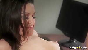 Ann Marie Rios get fucked by her husband' s friend