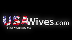 USAWIVES - Sexy Jade trying big toys in her mature pussy