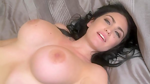 Gorgeous busty Milf London Jolie