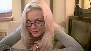 Ivanka in amateur nude blonde showing off her goods