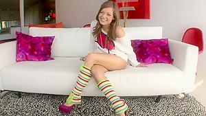 Ashlynn Leigh's 18 year old pussy