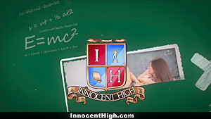 InnocentHigh - Petite Schoolgirl Loves Her Teacher's Dick
