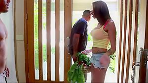 My sexy neighbor Juelz Ventura