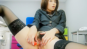 Hottest Japanese slut Maki Hojo in Fabulous JAV uncensored Hardcore scene