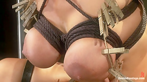 Bound tight to be ass fucked deep and hard.