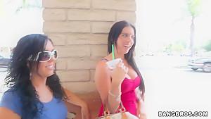 Angela Attison, Megan Foxx, Kodi Gamble