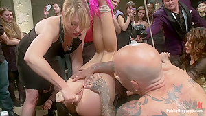 Penthouse Pet, Bound, Ass Fucked & Fisted, DP'ed, Made to Squirt