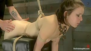 Juliette Day 4Sadistic Sexual Slave Training