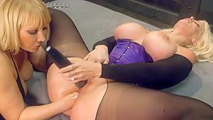 Fabulous fetish, anal porn movie with amazing pornstars Mellanie Monroe and Alura Jenson from Everythingbutt