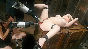 Hottest fetish sex video with best pornstars Princess Donna Dolore and Gia Paloma from Fuckingmachines