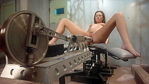 Best fetish, ebony sex clip with incredible pornstar Tori Black from Fuckingmachines