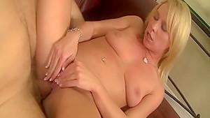 Amazing pornstar Aria Austin in incredible blowjob, blonde sex movie