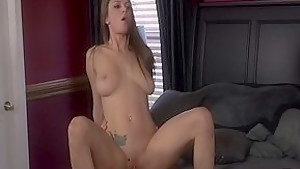 Fabulous pornstar Dillion Carter in crazy big tits, blowjob sex movie
