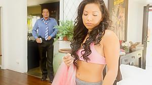 Morgan Lee in Father Figure #09, Scene #01 - SweetSinner