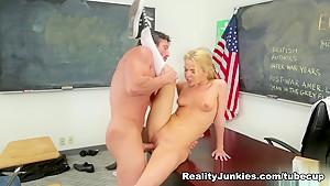 Amazing pornstars Alina West, Tommy Gunn in Horny Pornstars, Blonde xxx scene