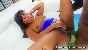 Incredible pornstar Lexington Steele in Crazy Black and Ebony, Anal sex video